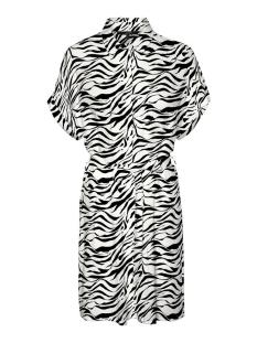 VMSIMPLY EASY S/S SHIRT DRESS WVN G 10227837 BLACK/ZANZANA