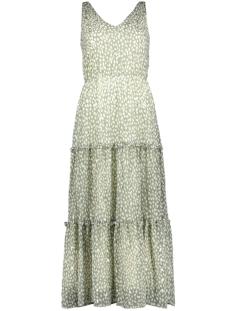 Vero Moda Jurk VMPENNY S/L ANKLE DRESS WVN 10230682 Laurel Wreath/PENNY