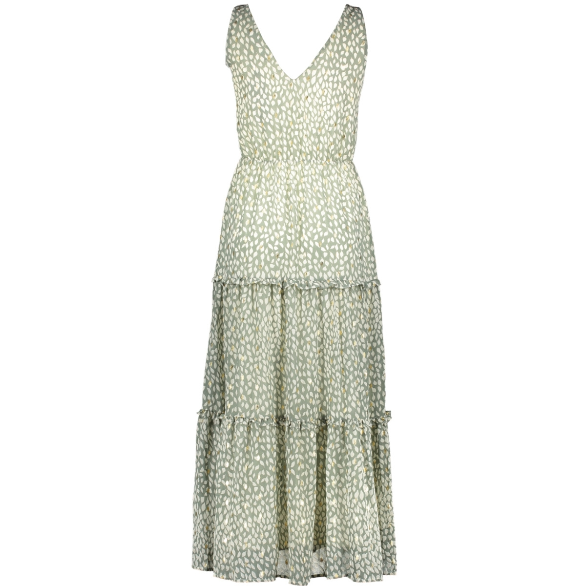vmpenny s/l ankle dress wvn 10230682 vero moda jurk laurel wreath/penny