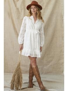 Ydence Jurk KYLEE DRESS EMBROIDERY WHITE