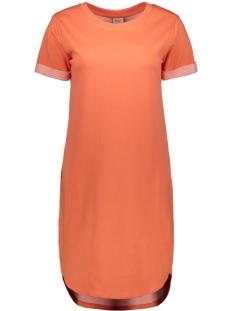 Jacqueline de Yong Jurk JDYIVY LIFE S/S DRESS JRS NOOS 15174793 Living Coral