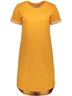 jdyivy life s/s dress jrs noos 15174793 jacqueline de yong jurk kumquat
