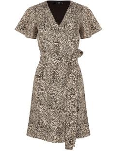 Ydence Jurk DRESS BLANCHE MET PRINT BLACK PRINT