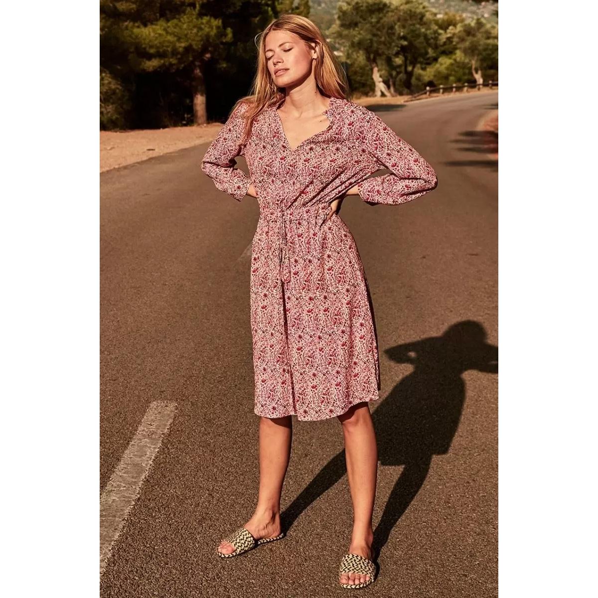 marlin dress s20 99 3055 circle of trust jurk red tree