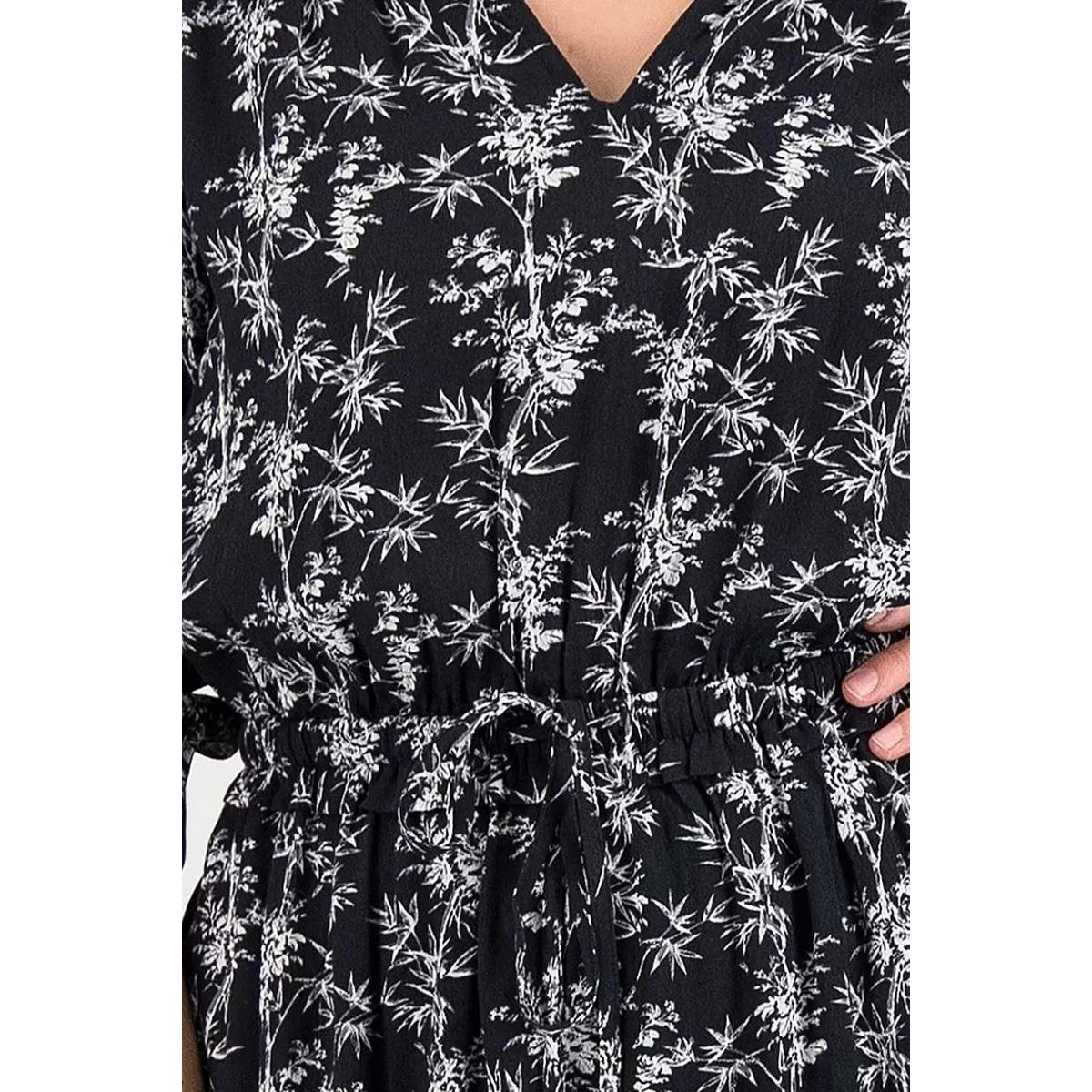 marlin dress s20 99 3055 circle of trust jurk black bamboo