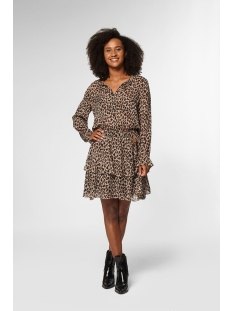 Circle of Trust Jurk GABY DRESS LONGSLEEVE S20 108 7480 LEOPARD