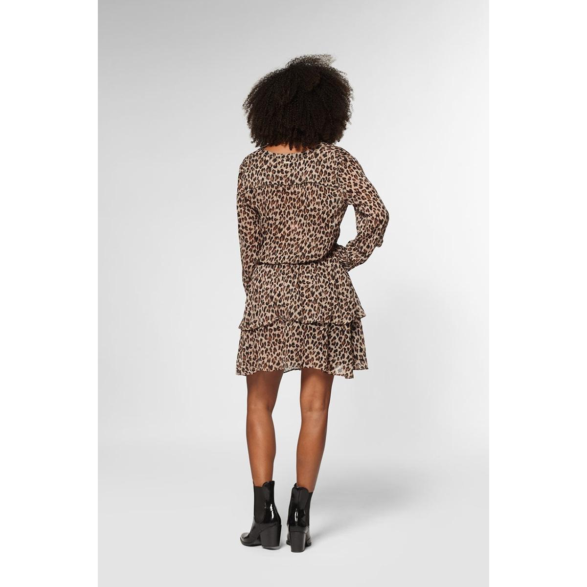 gaby dress longsleeve s20 108 7480 circle of trust jurk leopard