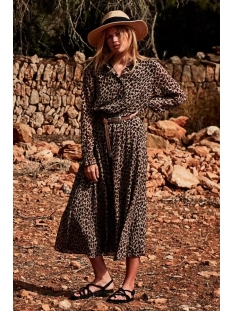 Circle of Trust Jurk IVANA DRESS S20 98 4680 LEOPARD