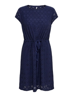Only Jurk ONLSONIA S/S DRESS JRS 15204311 PEACOAT