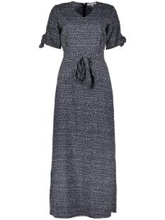 maxi jurk met allover print q00087 garcia jurk 292 dark moon