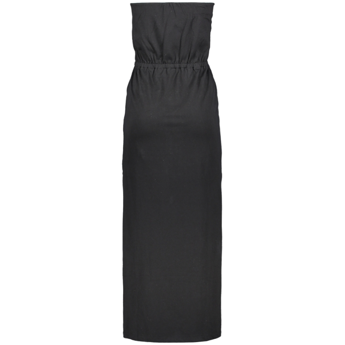 vicalina strapless maxi dress 14057581 vila jurk black