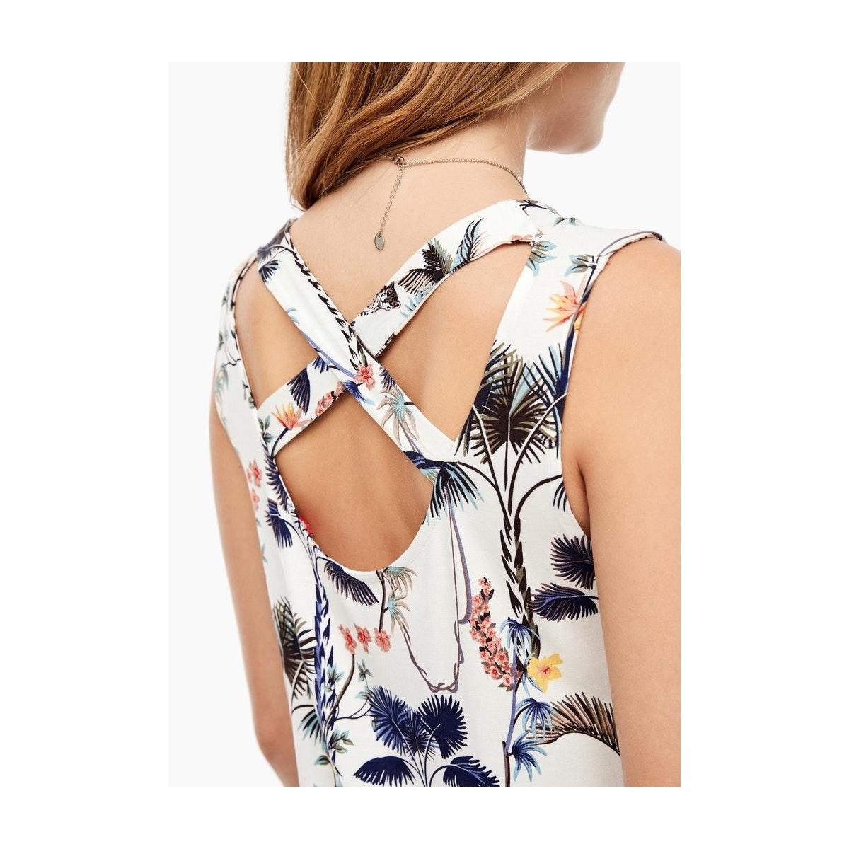 jurk met jungle patroon 05006823883 s.oliver jurk 02b2