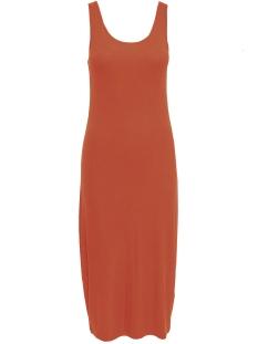 Only Jurk ONLNAROMA S/L DRESS JRS 15204143 Hot Sauce