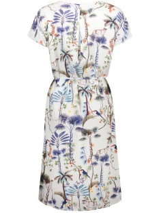 viscose jurk met motief 05006823955 s.oliver jurk 02a2