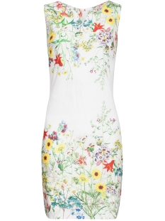 Smashed Lemon Jurk DRESS 20129 WHITE/MULTI