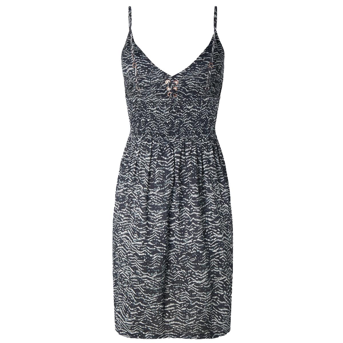 lw tolowa strappy dress 0a8922 o`neill jurk 9960 black aop