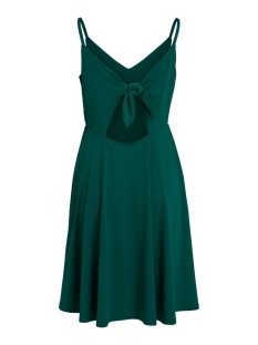 vijansane strap dress/su 14057245 vila jurk ultramarine green