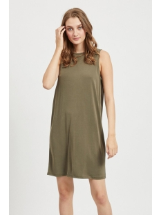 Object Jurk OBJTIA S/L DRESS 109 23032967 BURNT OLIVE