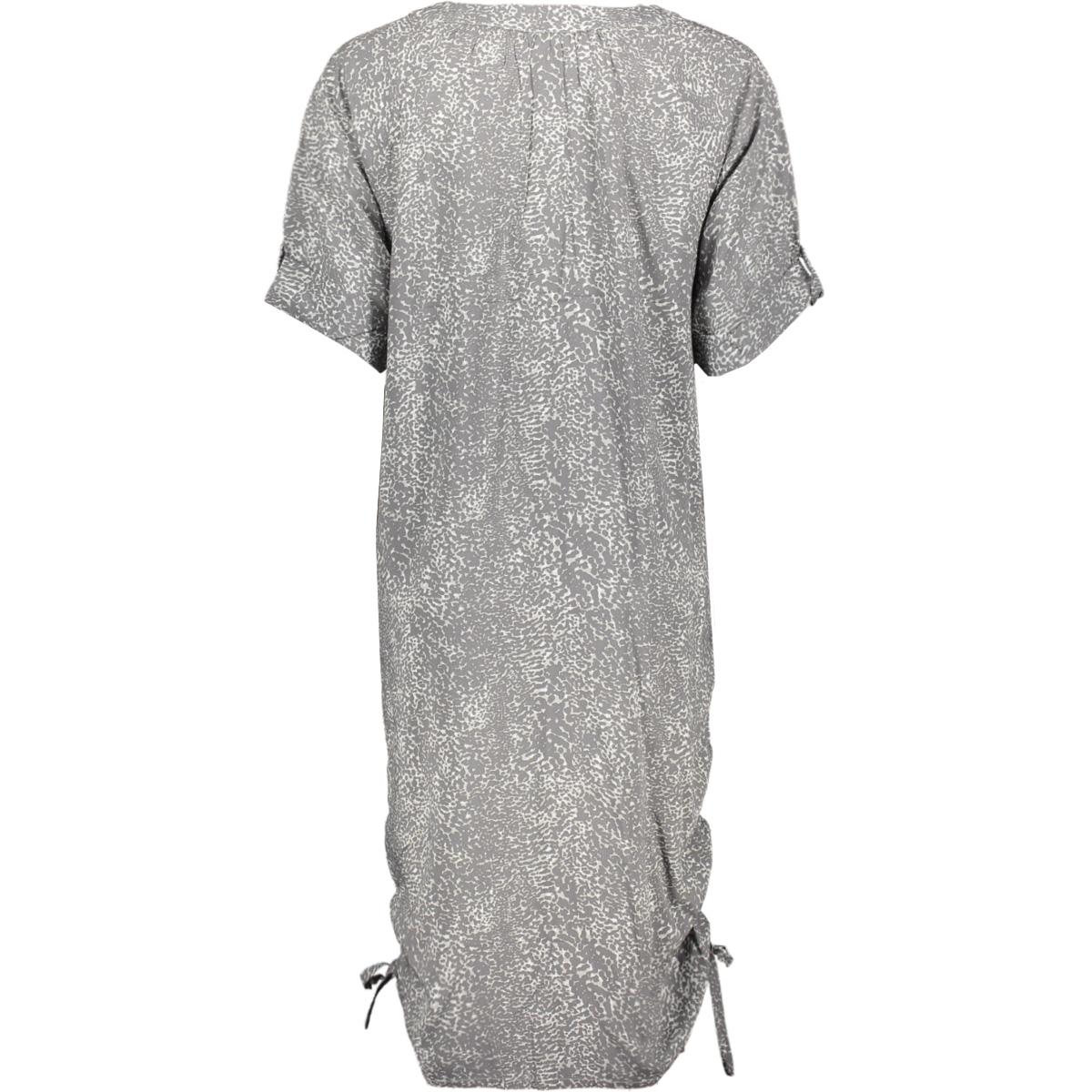jurk met grafische print 23001674 sandwich jurk 80076