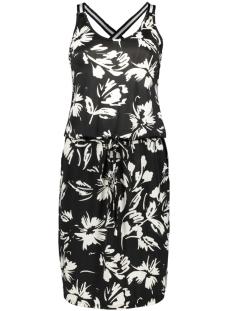 IZ NAIZ Jurk DRESS 3689 FLOWER/BLACK