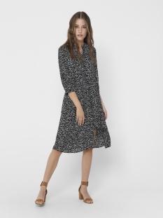 jdyzoey treats 3/4 dress wvn 15181125 jacqueline de yong jurk black/cloud danc
