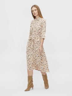 objnelle 3/4 long shirt dress pb8 23033100 object jurk sandshell