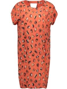 jurk met grafisch patroon 23001740 sandwich jurk 20139