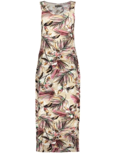 RIVER DRESS SLEEVELESS 07043 60 Sand/Rhubarb