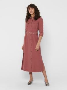 Only Jurk ONLABELLA-ARIS LONG SHIRT DRESS PNT 15200612 Apple Butter