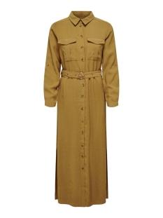 Only Jurk ONLABELLA-ARIS LONG SHIRT DRESS PNT 15200612 Dijon