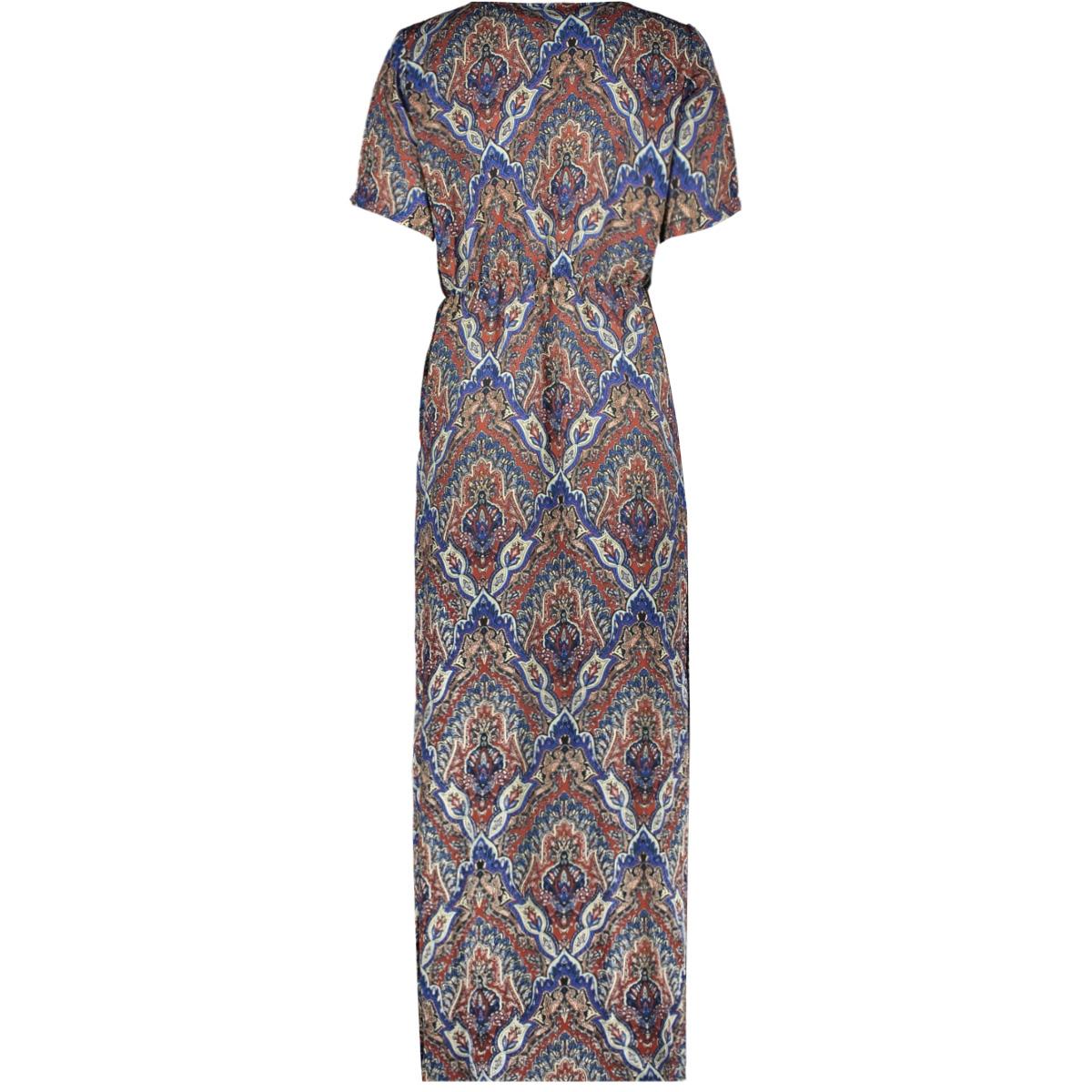 onlhanna s/s ancle dress wvn 15205456 only jurk burnt henna