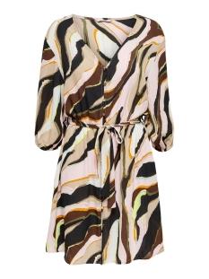 onldarlene 3/4 dress wvn 15205573 only jurk cloud dancer/distortion