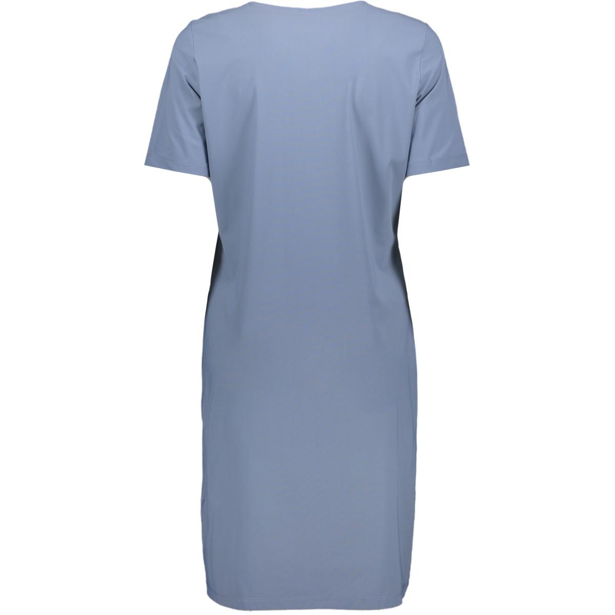 erica travel v neck dress 202 zoso jurk blue