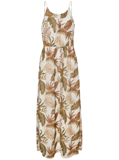 Vero Moda Jurk VMTESS SINGLET MAXI DRESS EXP 10233997 Birch/JUNGLE