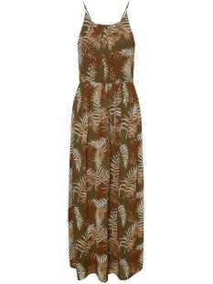 Vero Moda Jurk VMTESS SINGLET MAXI DRESS EXP 10233997 Ivy Green/PALMA