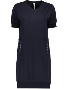 Zoso Jurk JANE SWEAT DRESS WITH TECH 203 NAVY