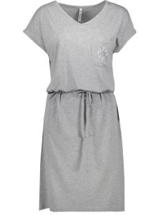 monica sporty dress 203 zoso jurk grey melange