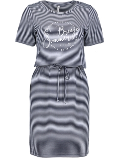 bella sporty dress 203 zoso jurk navy white