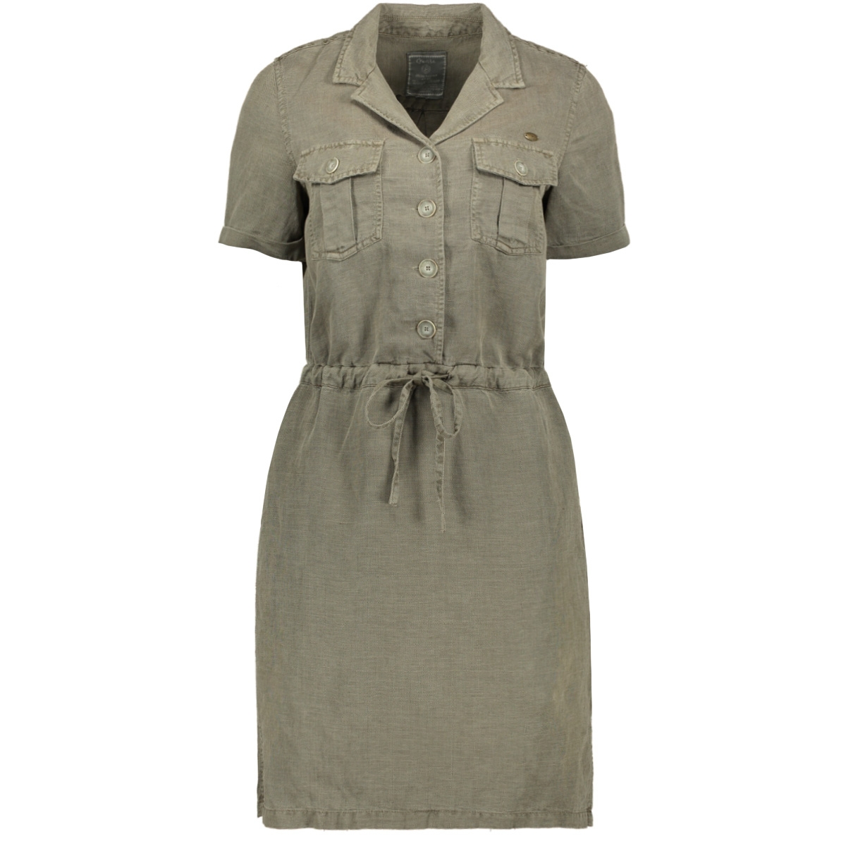 dress lyocell chest pockets 07017 10 geisha jurk 000550 army