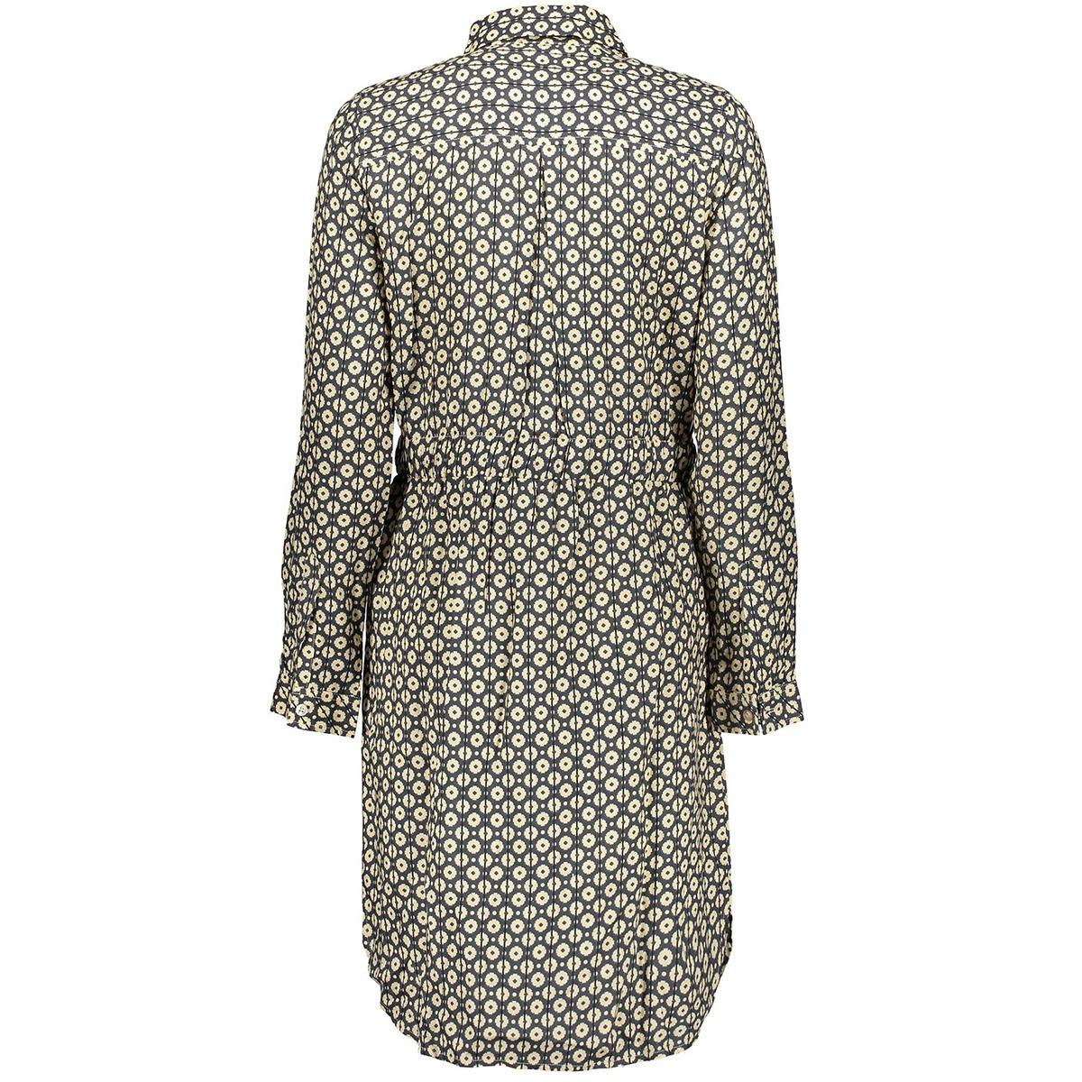 dress aop ls 07137 21 geisha jurk off-white/ecru