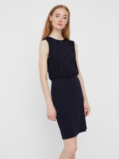 Vero Moda Jurk VMLILLIE SL SHORT DRESS  JRS CE 10229278 Night Sky
