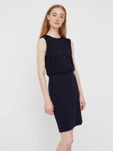 vmlillie sl short dress  jrs ce 10229278 vero moda jurk night sky