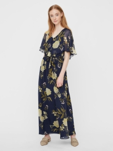 vmlucca frill maxi dress wvn ce 10229272 vero moda jurk night sky
