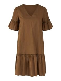 pcmikkeline ss dress camp bc 17105615 pieces jurk kangaroo