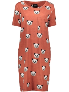 Snurk Jurk LAZY PANDA T SHIRT DRESS SS 2020 LAZY PANDA