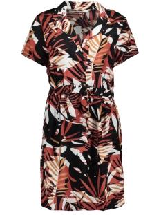 Only Jurk ONLMIE S/S SHORT DRESS WVN 15206943 Burnt Henna