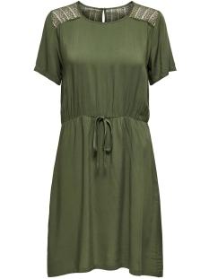 Jacqueline de Yong Jurk JDYSUMMER S/S LACE DRESS WVN 15194639 Kalamata