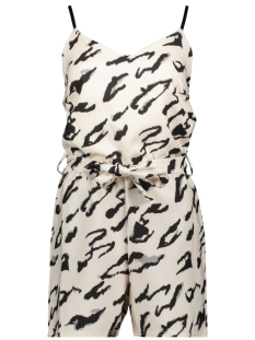 nearly pl sisters point jumpsuit cream/blk