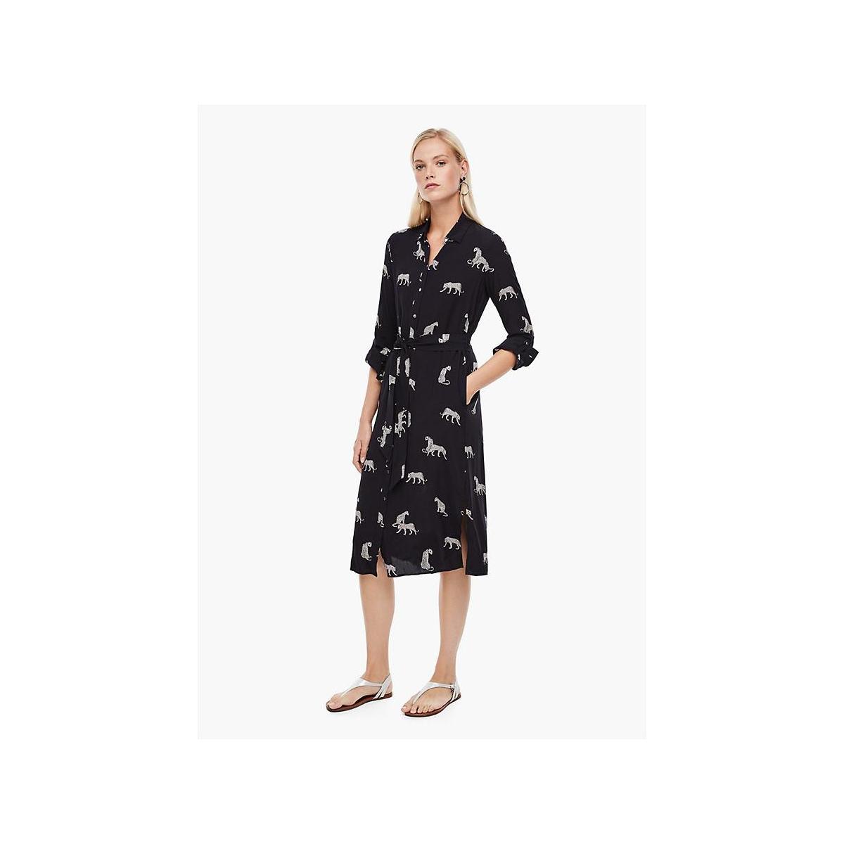 jurk met panterprint 14007815974 s.oliver jurk 59a5