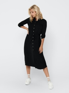 Only Jurk ONLISABELLA 3/4  ABOVE CALF DRESS W 15207070 Black